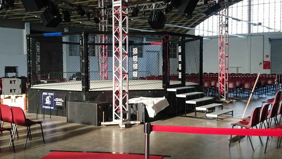 Noleggio Gabbia MMA Italy